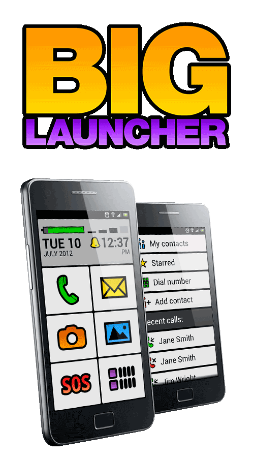 BIG Launcher for Android: Help & User Manual